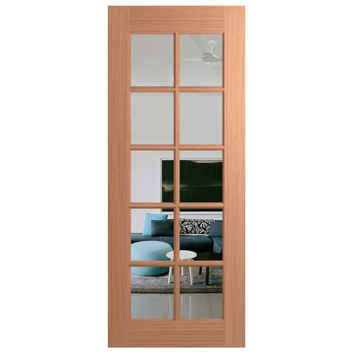 Hume Joinery Clear Glass External Door - 620mm x 2040mm x 40mm