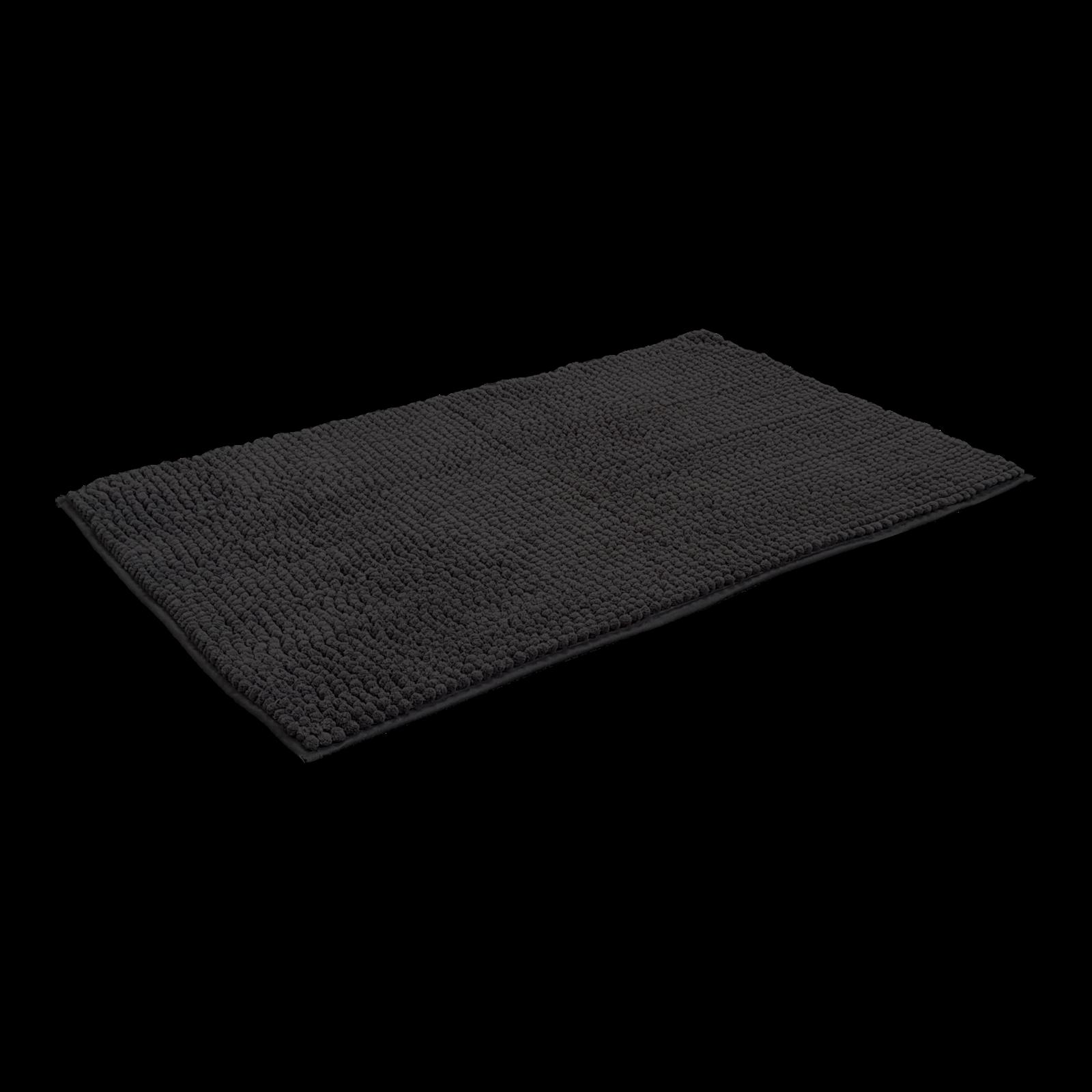 Axton 50 x 80cm Black Duke Bathmat