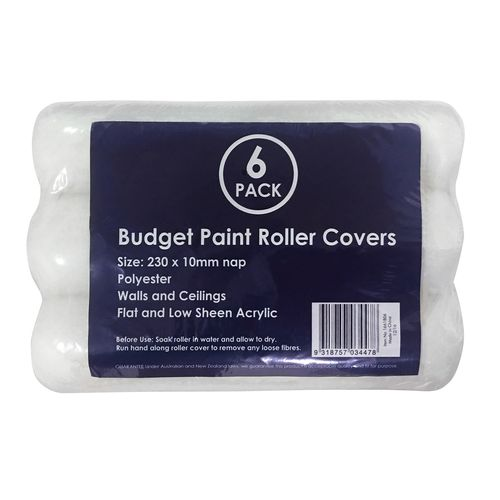 Paint Roller Value Pack - 6 Pieces