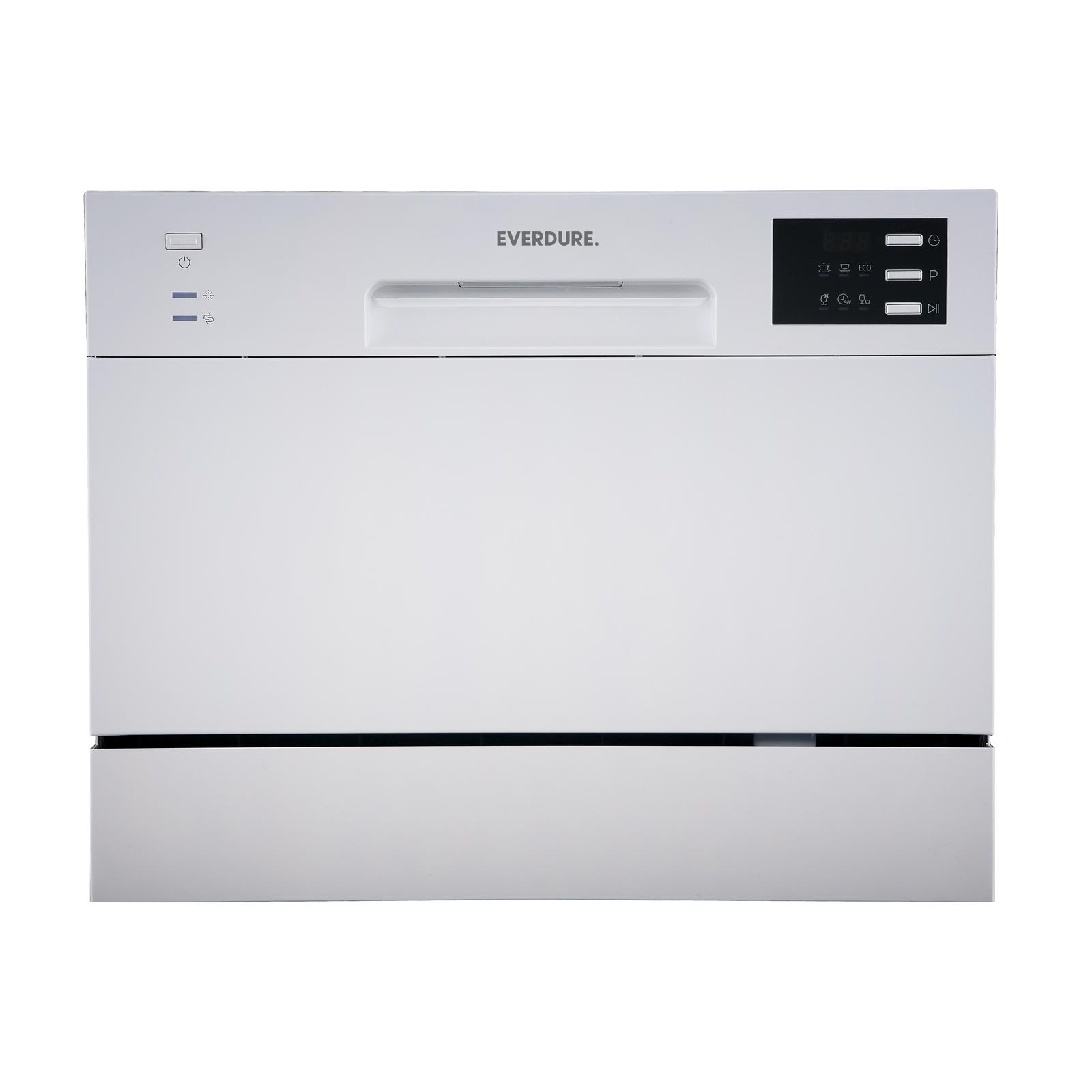 Everdure 55cm Silver Countertop Dishwasher
