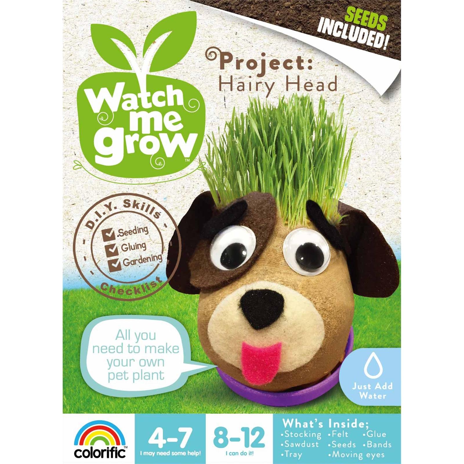 Watch Me Grow Hairy Head