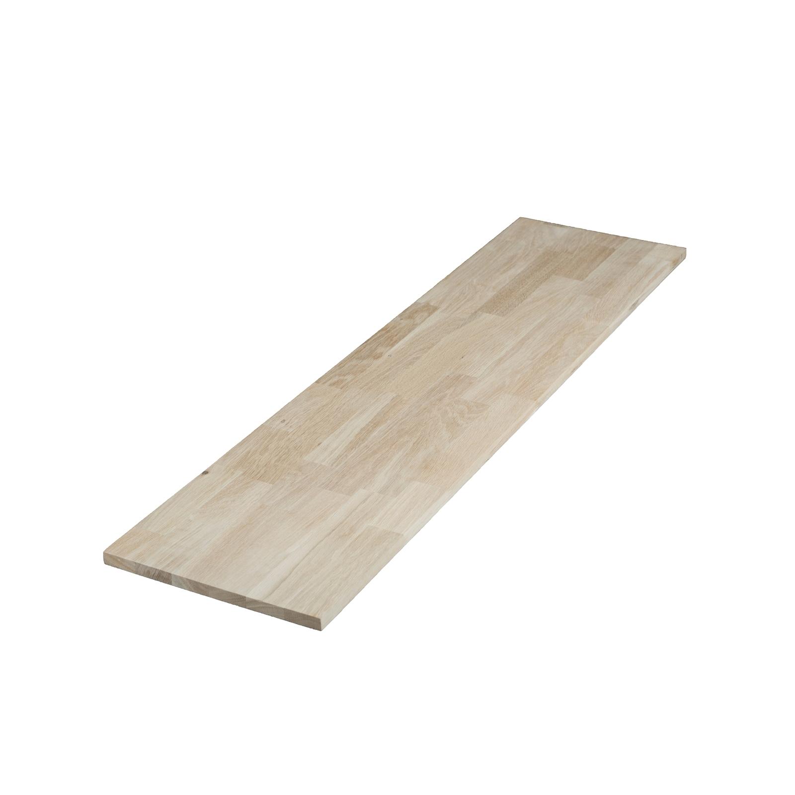 1200 x 405 x 18mm Finger Jointed Oak Panel