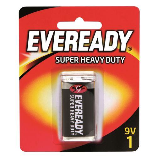 Eveready 9V Super Heavy Duty Battery