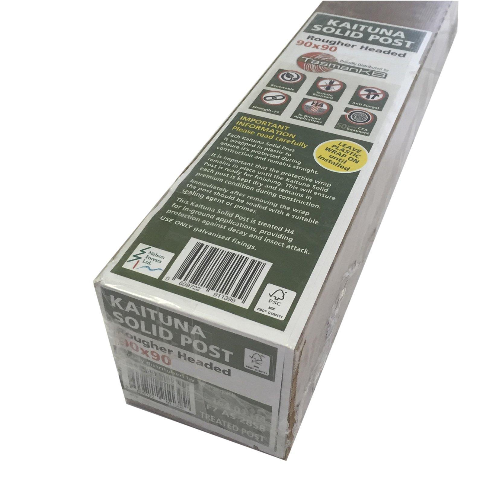 90 x 90mm 5.4m F7 KD H4 RH Premium Wrapped Treated Pine