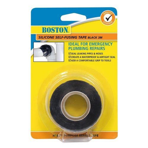 BOSTON 3m Black Silicone Self-Fusing Tape