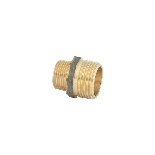 Kinetic 20 x 15mm Brass Threaded Hex Reducing Nipple