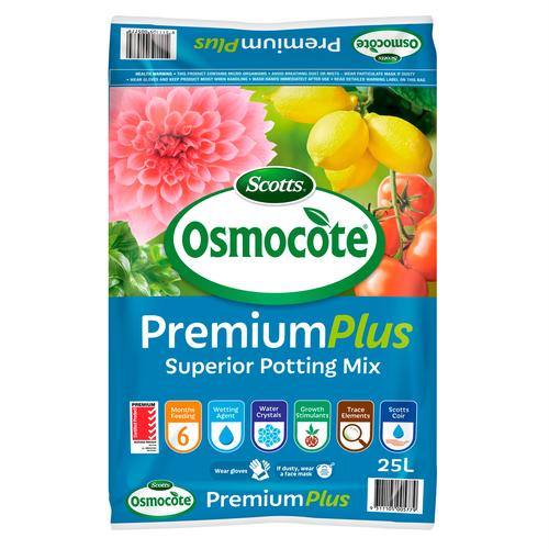 Scotts Osmocote 25L Premium Plus Superior Potting Mix