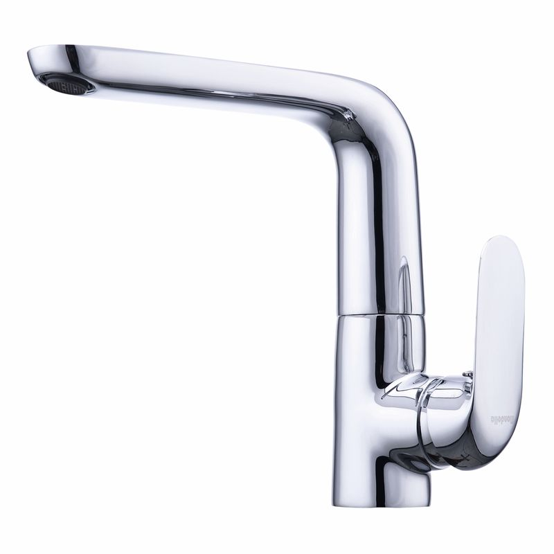 Rumba Chrome Side Lever Sink Mixer