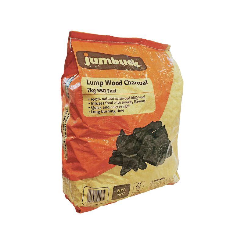 7kg Lumpwood Charcoal BBQ Fuel