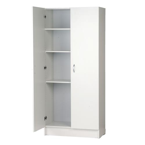 Bedford 900mm White 2 Door Pantry