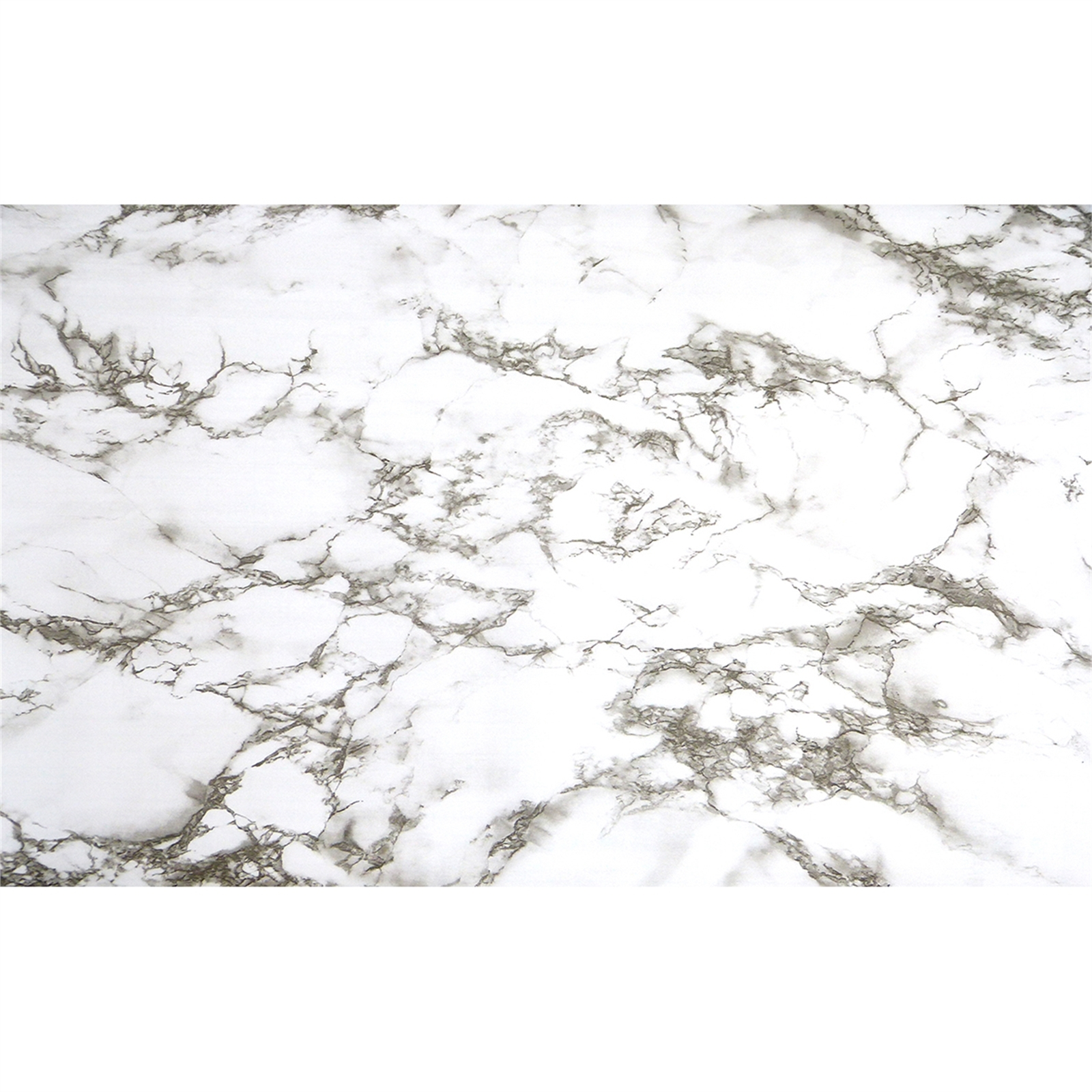 Boyle 45cm x 1.5m White Marble Self Adhesive Film