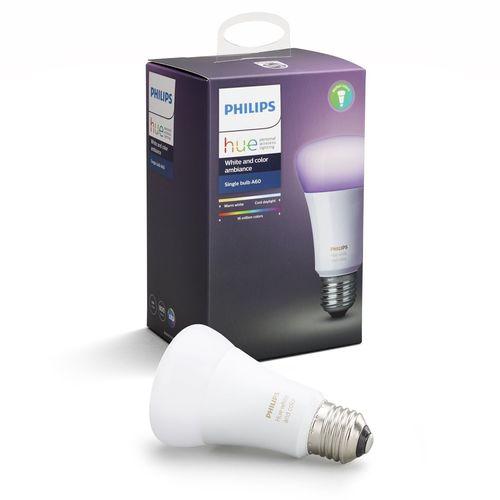 Philips Hue 10W White And Colour Ambiance E27 Bulb