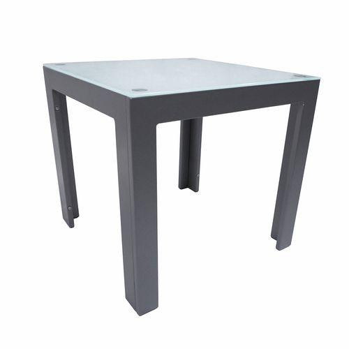Hartman 50 x 50 x 47cm Graphite Dali Side Table