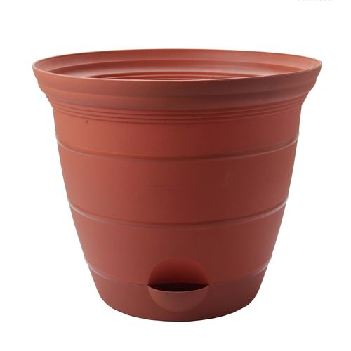 EDEN 30cm Terracotta Self Watering Roman Planter