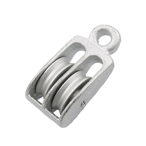 Zenith 40mm Galvanised Double Awning Pulley