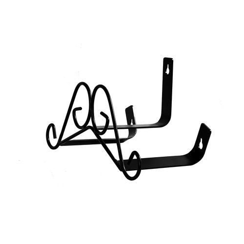 Haxbury Black Scroll Hose Hanger