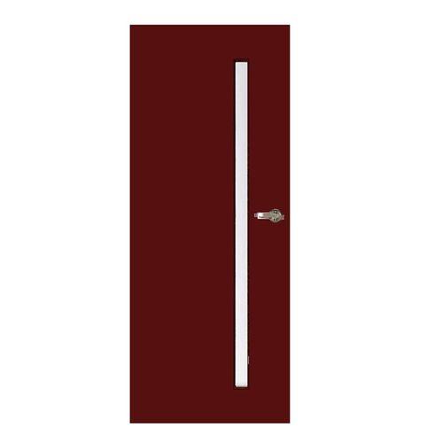 Hume Doors & Timber 2040 x 820 x 40mm Focus 1 Entrance Door With Translucent Laminate Glass