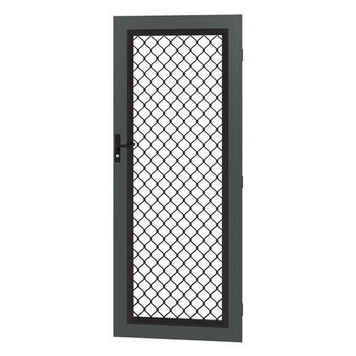 Protector Aluminium 808-848 x 2030-2070mm Adjustable Grille Security Door - Monument