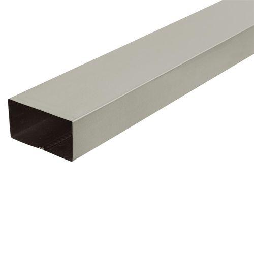 COLORBOND 0.4 x 100 x 50mm x 1.8m Steel Downpipe - Evening Haze