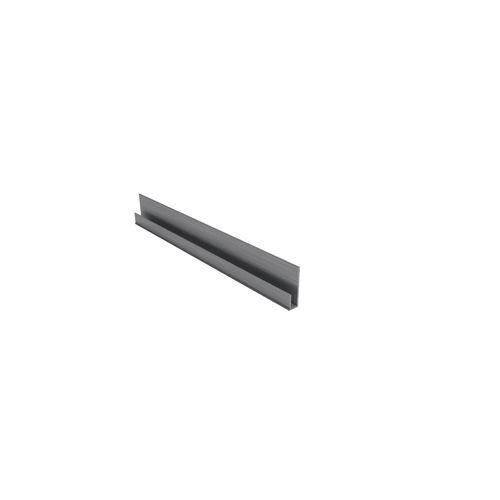 BGC Fibre Cement 2.4m Aluminium Stratum Contour J Mould