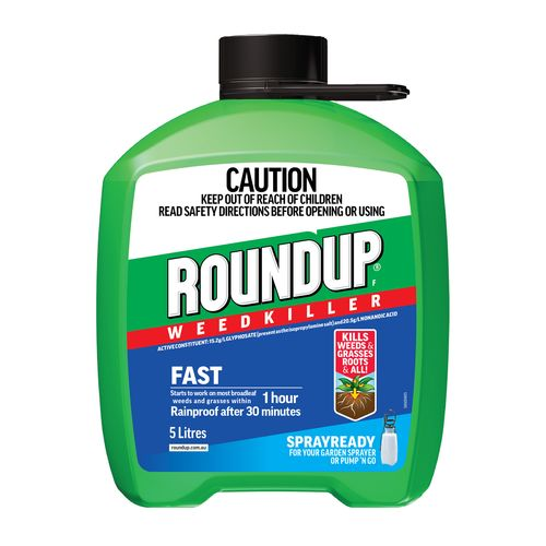Roundup 5L Fast Spray Ready Weedkiller