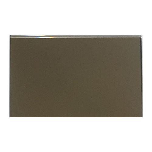 Trendy Mirrors 145 x 94mm Bronze Mirror Glass Splashback Sample