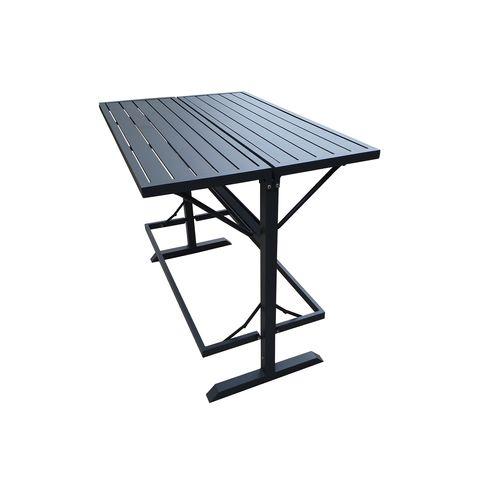Mimosa 85 x 130cm Lava Foldable Bar Table