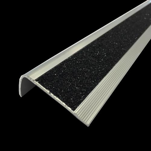 Roberts 2.0m Black Trim Stairnose Carborundum
