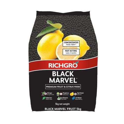 Richgro 5kg Black Marvel Premium Fruit And Citrus Food