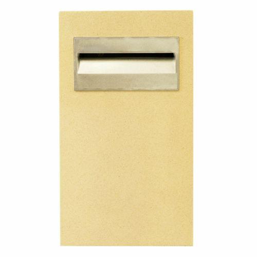 Letterbox Pillar Polytek Parcel Box L1054key