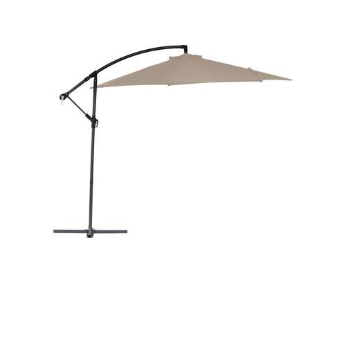 Marquee 3.0m Beige Cantilever Umbrella