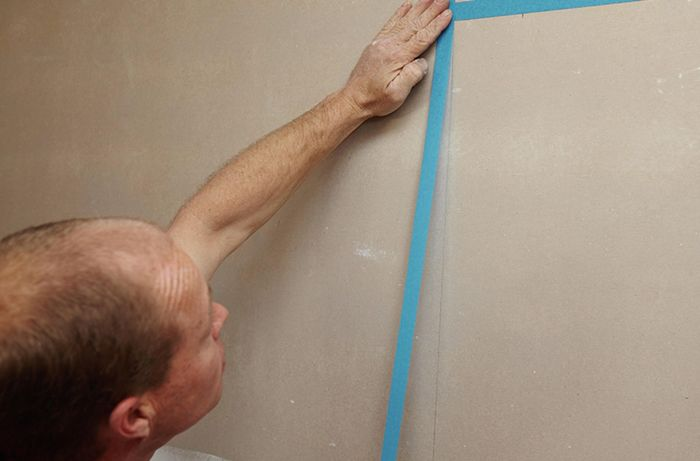 DIY Step Image - How to waterproof a shower . Blob storage upload.