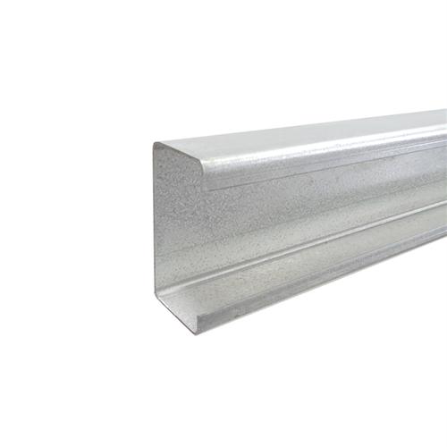 Australian Handyman Supplies 100 x 50 x 3m Galvanised C-Purlin Fence Rail