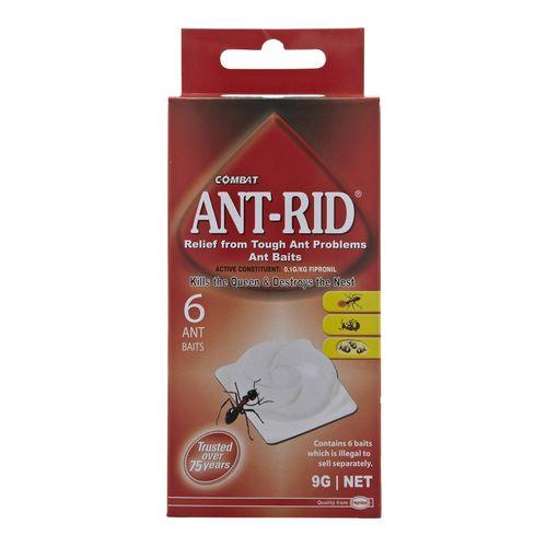 Combat 1.5g Ant-Rid Bait - 6 Pack