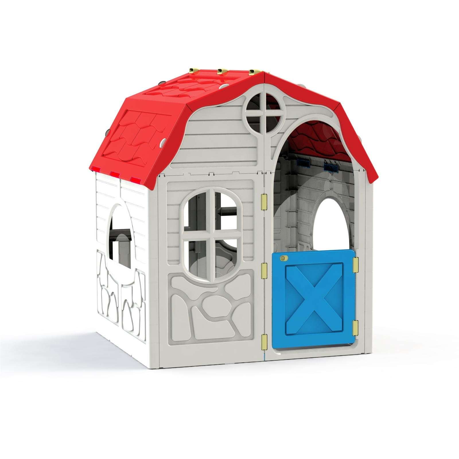 RAM 98 x 91 x 115cm Cubby House Country