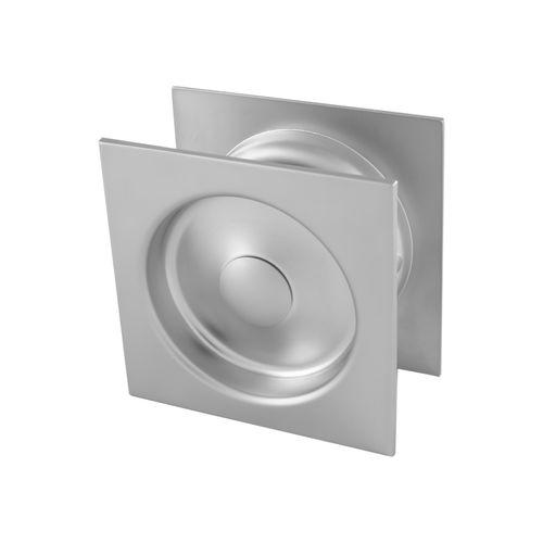 Gainsborough Satin Chrome Square Passage Sliding Cavity Door Set