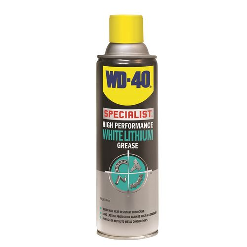 WD-40 Specialist High Performance White Lithium Grease 300g Clear