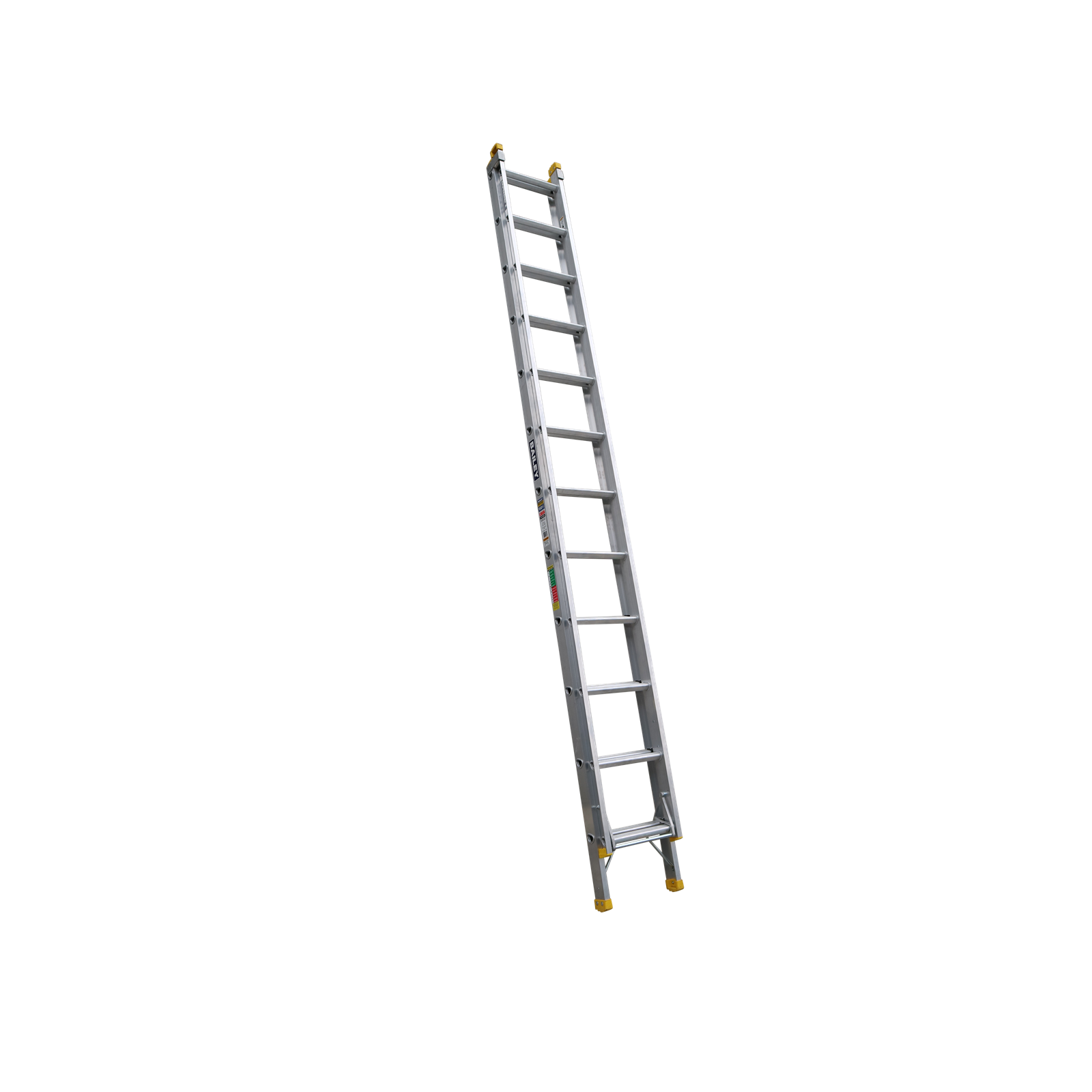 Bailey 3.7-6.5m 150kg Industrial Rated Pro 12 Rung Aluminium Extension Ladder