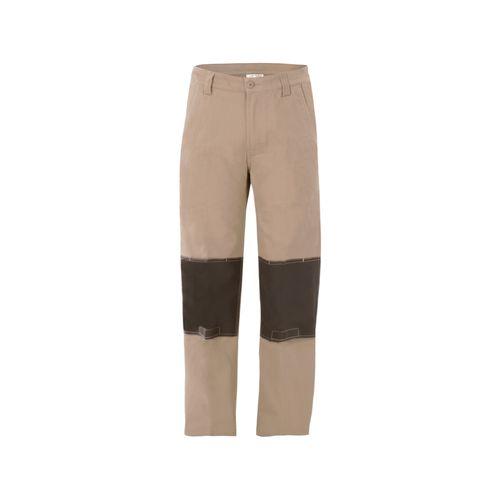 Craftright Size 77 Khaki Oxford Trim Pant