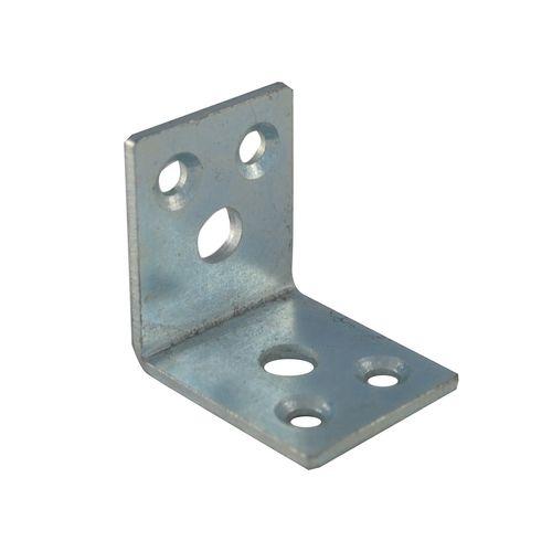 Carinya 50 x 50 x 40 x 3.5mm Zinc Plated Heavy Duty Angle Bracket