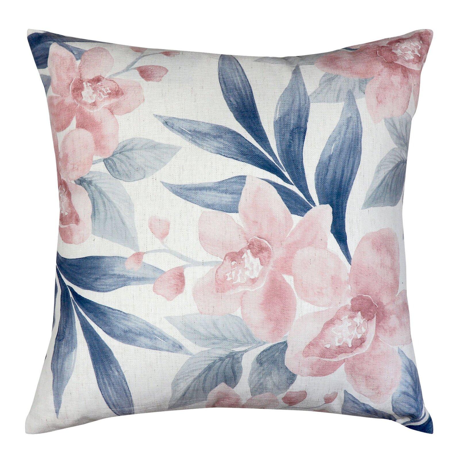 Orchid Blush/Slate Cushion