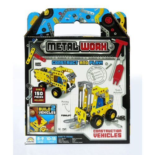 Metal Worx Construction Vehicles - Twin Pack