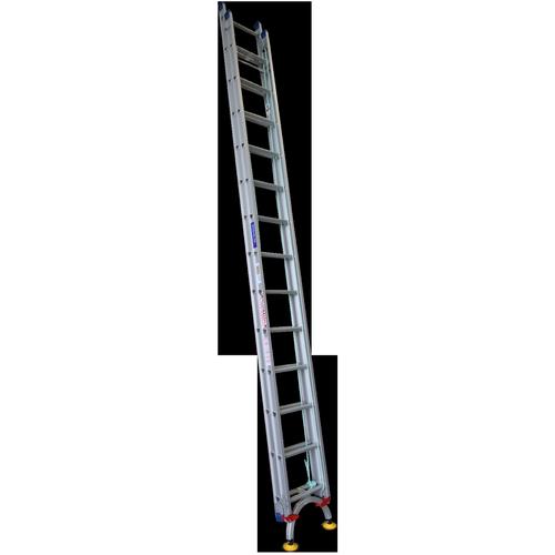 Indalex 4.4 - 7.8m 150kg Pro Series Extension Ladder With LevelArc