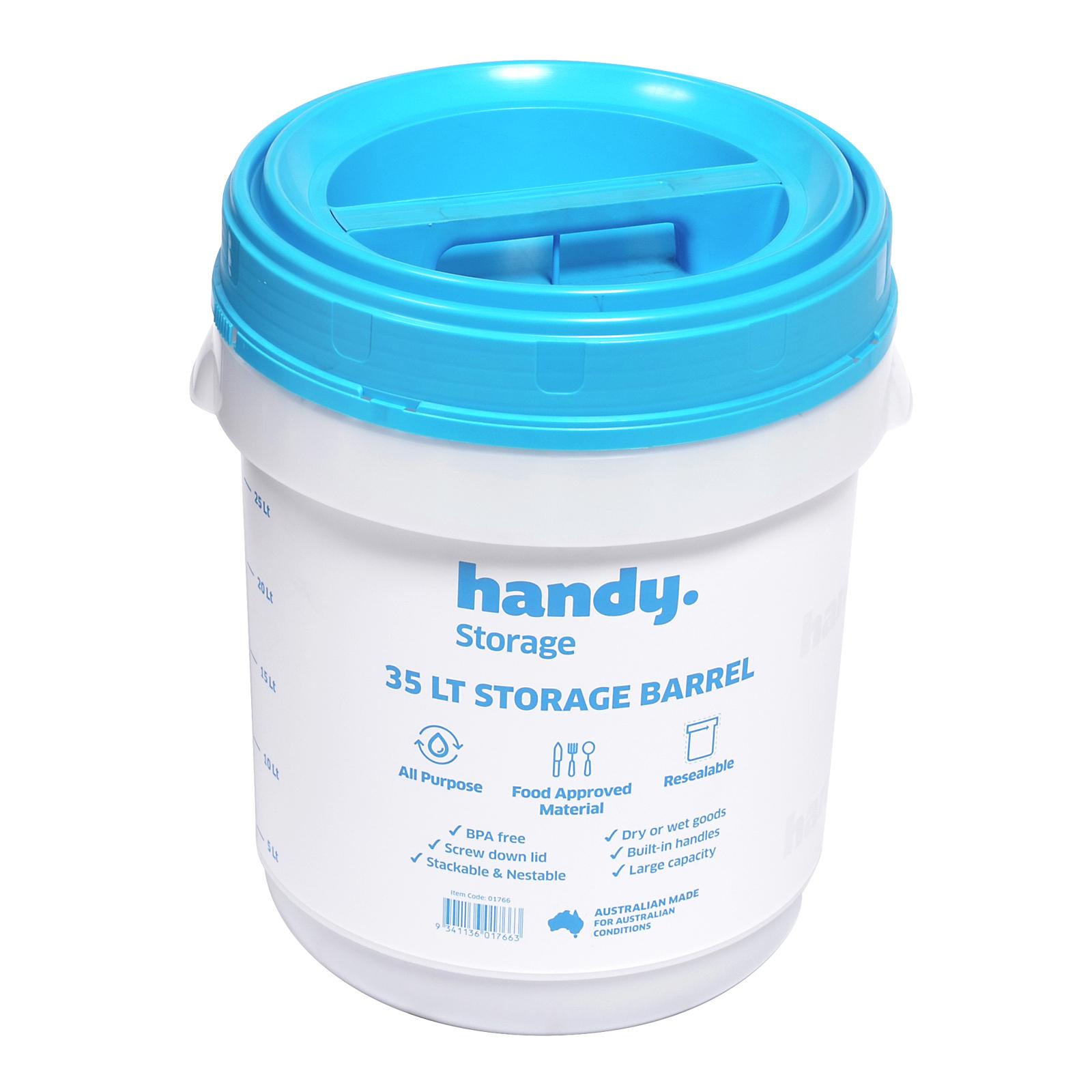 Handy Storage 35L All Purpose Storage Barrel
