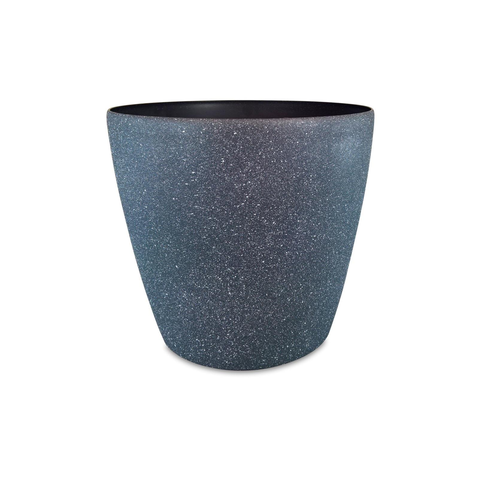 EDEN 22 x 20cm Granite Round Self Watering Planter