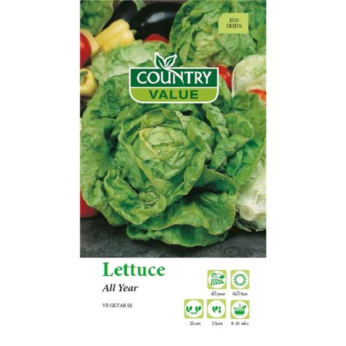Country Value Seed Lettuce All Year
