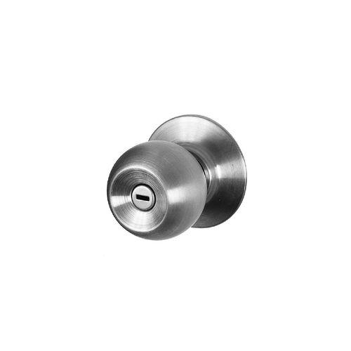 Sylvan Quest Bathroom Knob Set  Polished Brass
