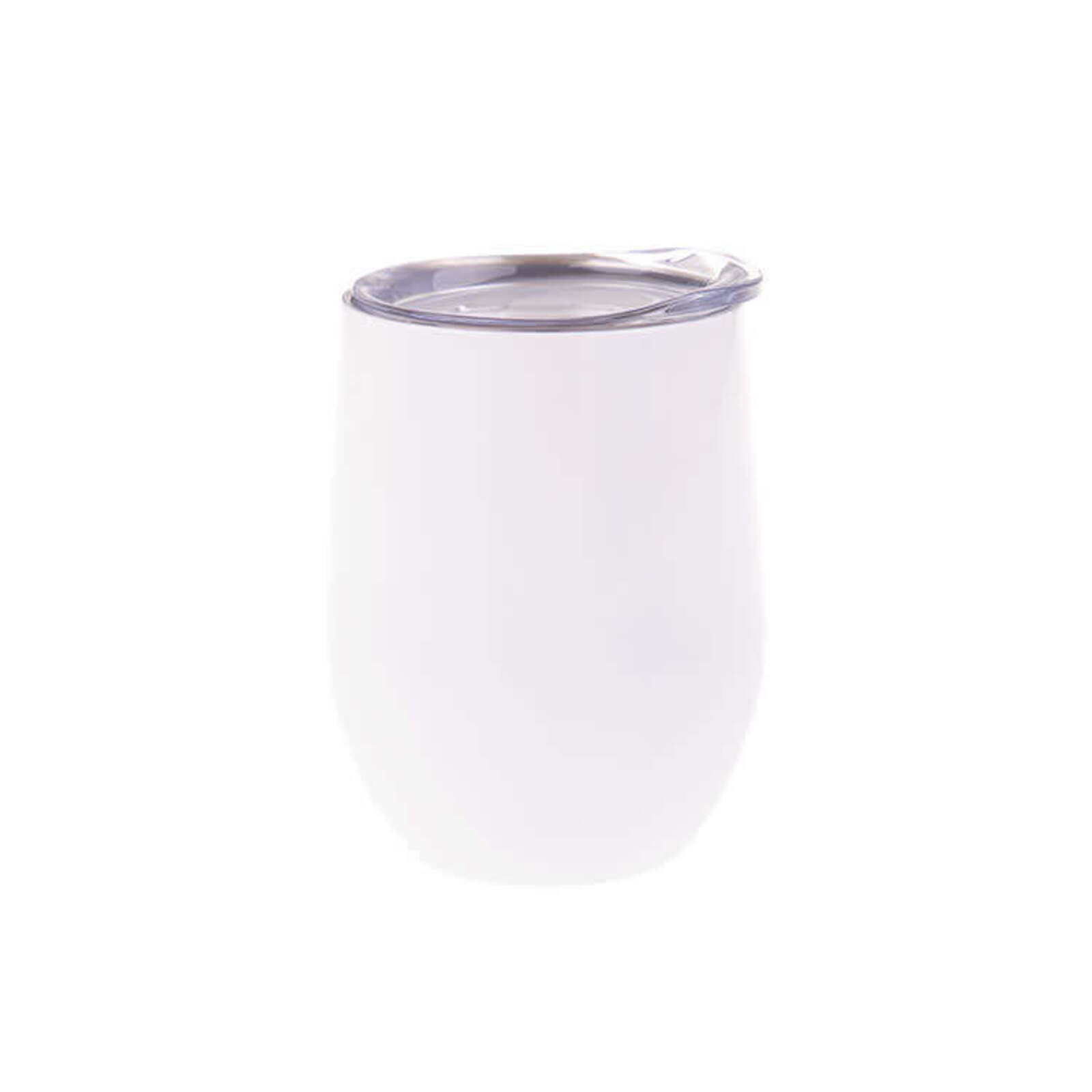 Oasis Pastel Double Wall Insulated Wine Tumbler 330ml White
