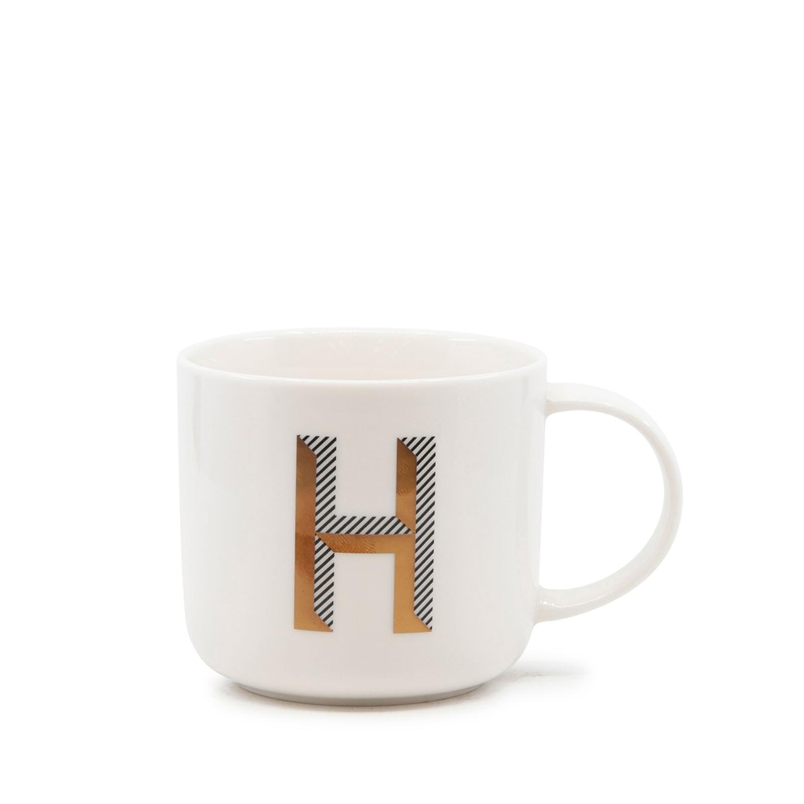 Alpha Mug - 400ml - Letter H