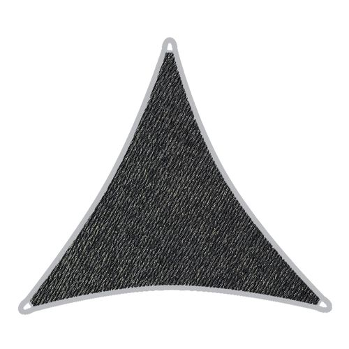 Coolaroo 3.6m Graphite Triangle Shade Sail